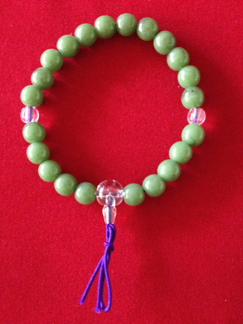 Wrist Onenju - Green Bead