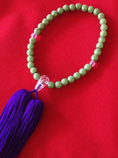 Women's Onenju - Green Bead