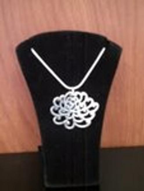 Necklace By Cynthia Sasaki Designs - Chrysanthemum / Lg