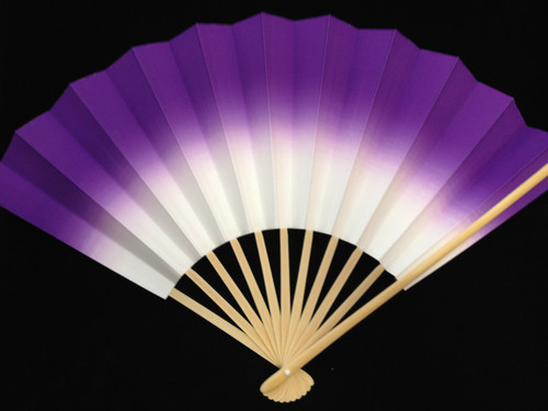 Folding Fan - Purple