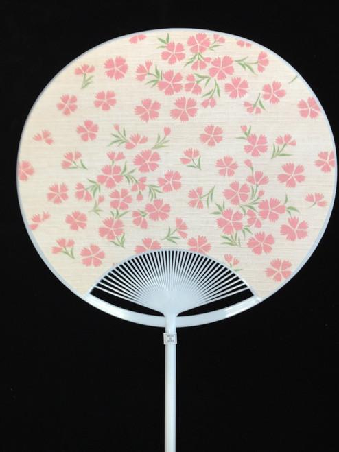 Uchiwa Fan - Floral
