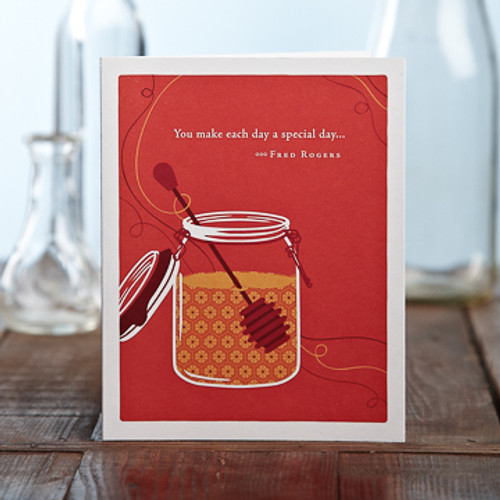 Appreciation - You make each day...