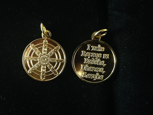 Pendant - Dharma Wheel