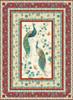 Peacock Pavillion Quilt #1