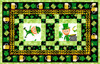 Spring Jubiliee - St. Patrick's Day Table Runner and Placemats