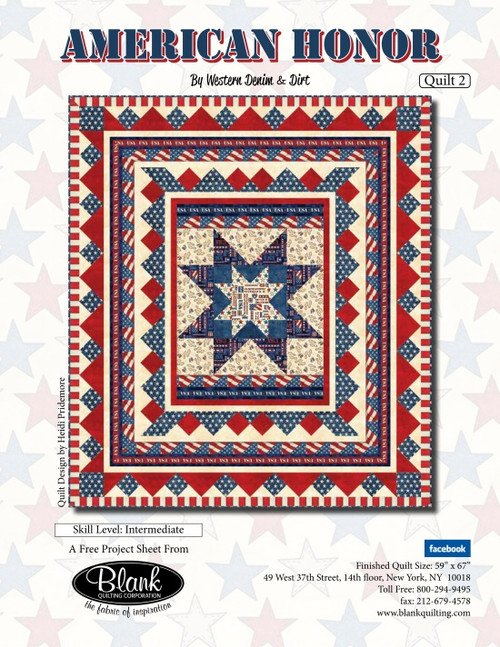 American Honor Quilt #2