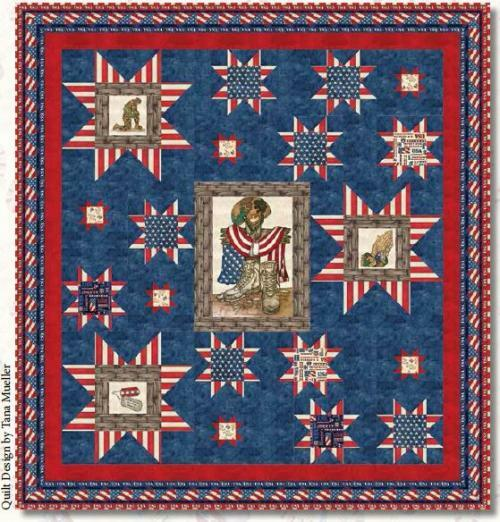 American Honor Quilt #3