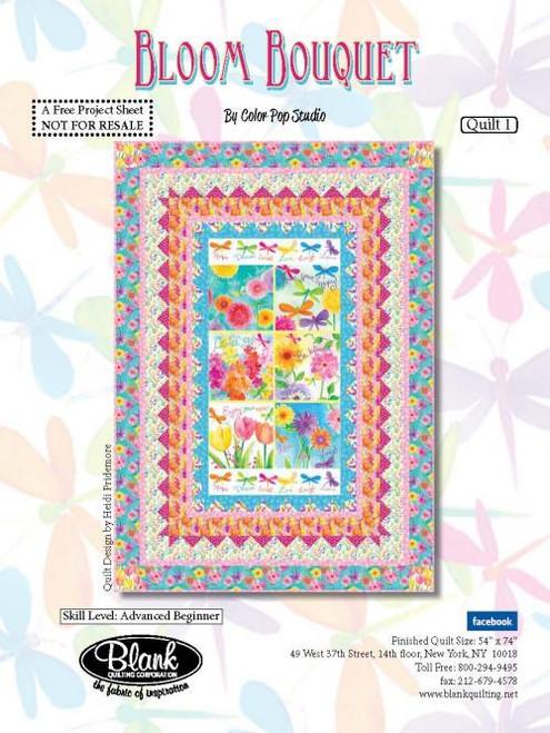 Bloom Bouquet Quilt #1
