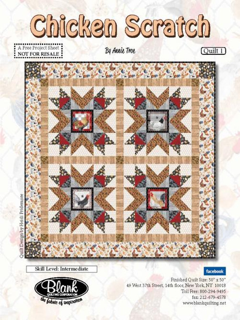 Chicken Scratch Quilt #1