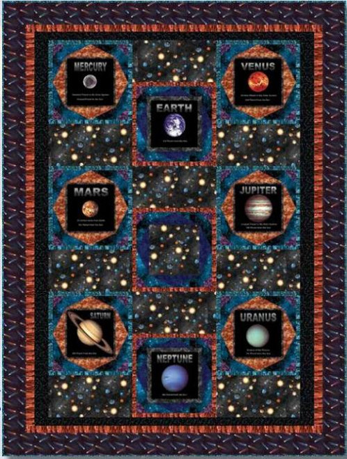 Cosmic Space Quilt #2