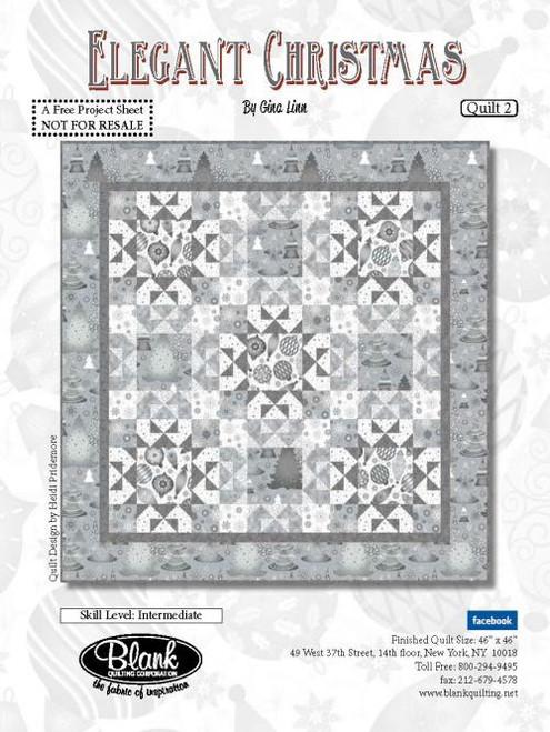 Elegant Christmas Quilt #2
