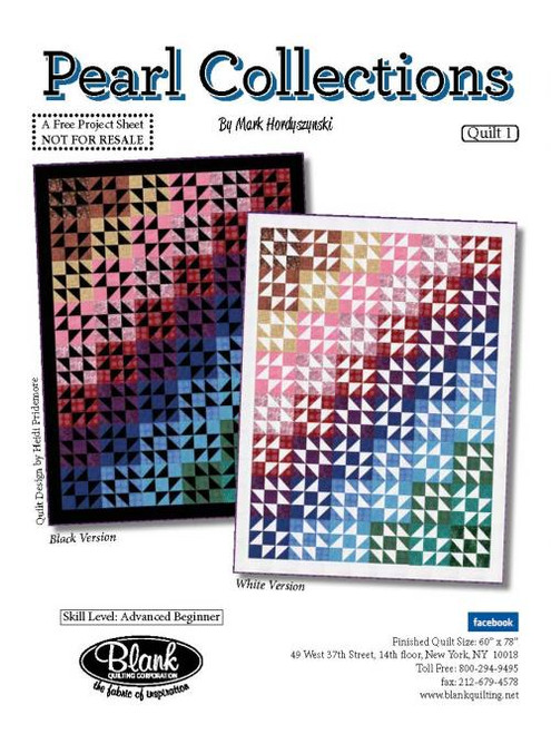 Pearl Collections Quilt #1