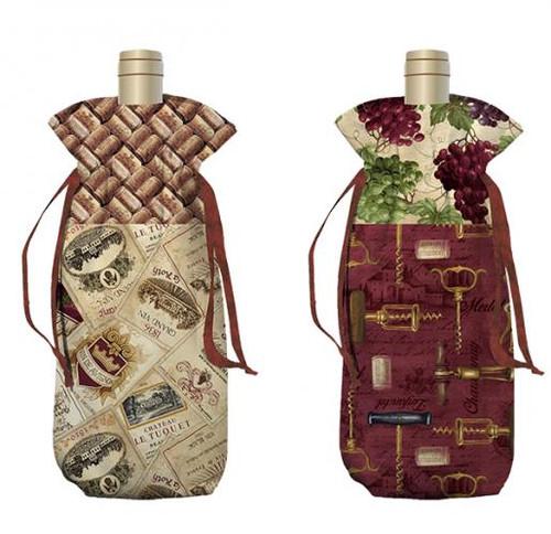 Vineyard Valley Wine Bag
