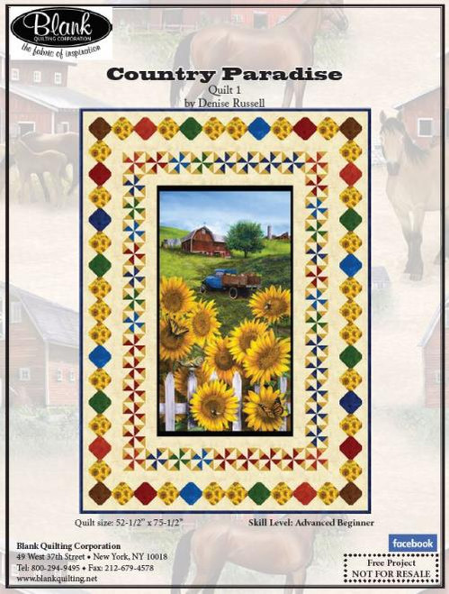 Country Paradise Quilt #1