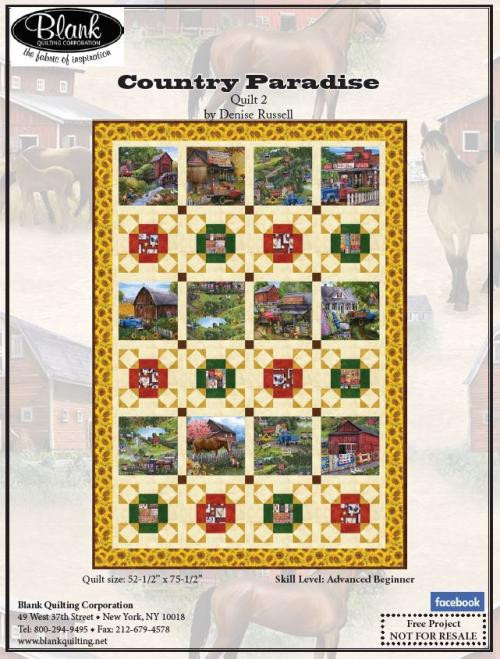 Country Paradise Quilt #2
