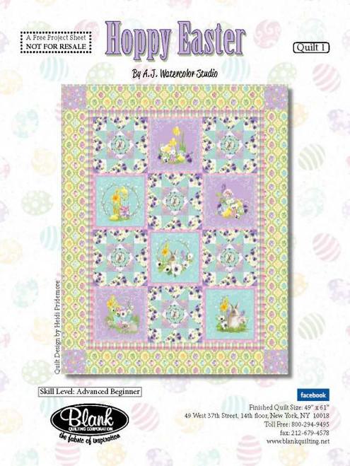 Hoppy Easter Quilt #1