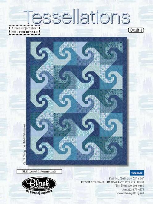 Tessellations Quilt #1