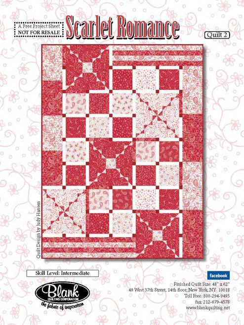 Scarlet Romance Quilt #2