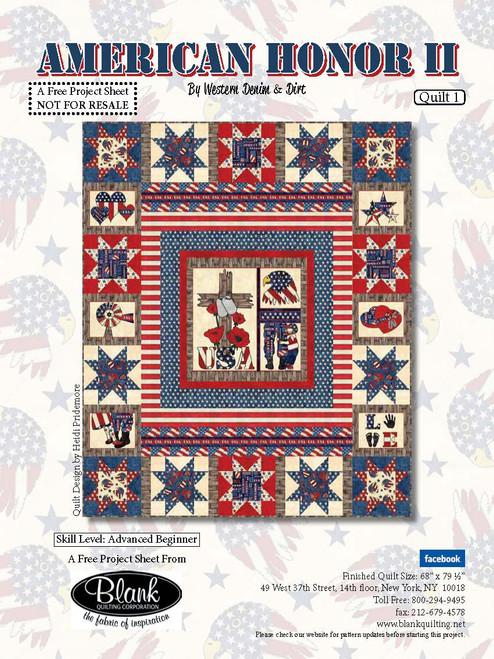 America Honor II Quilt #1