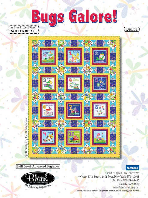 Bugs Galore Quilt #1