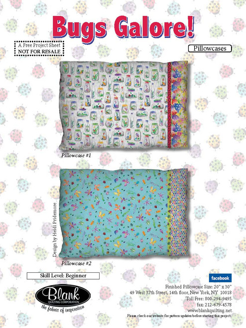 Bugs Galore Pillowcases