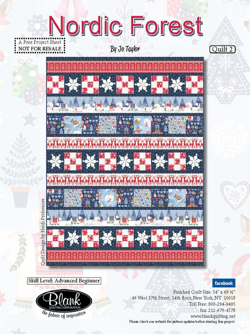 Nordic Forest Quilt #2