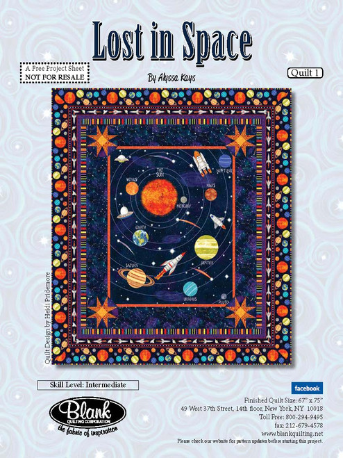 Lost in Space Quilt #1