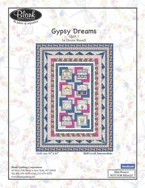 Gypsy Dreams Quilt #1