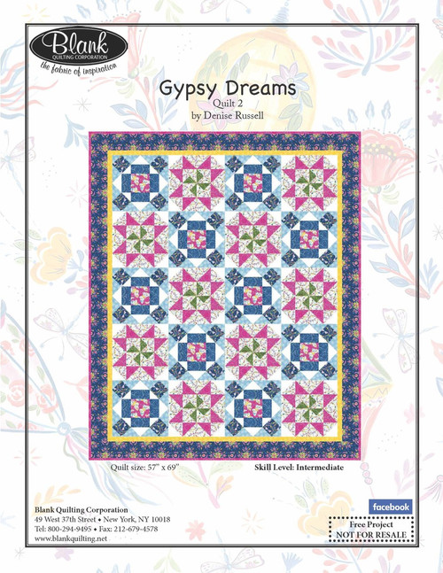 Gypsy Dreams Quilt #2