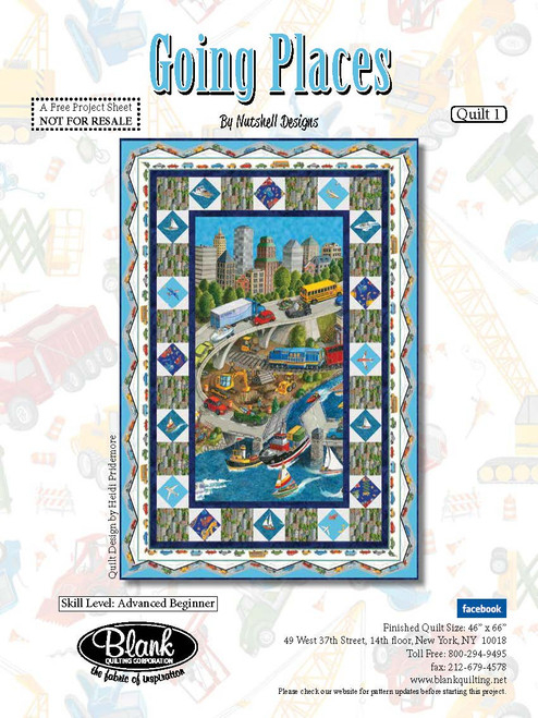 Going Places Quilt #1