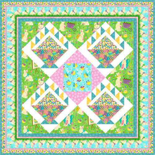 Sping Jubilee - Easter Quilt #1
