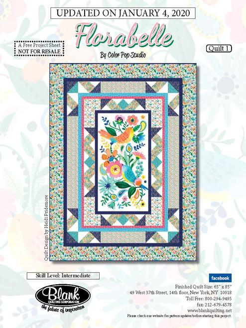 Florabelle Quilt #1