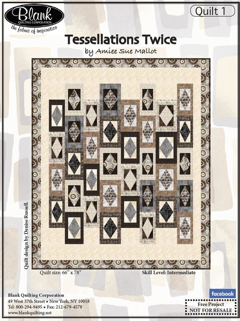 Tessellations Twice Quilt #1