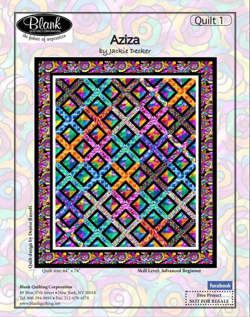 Aziza Quilt #1