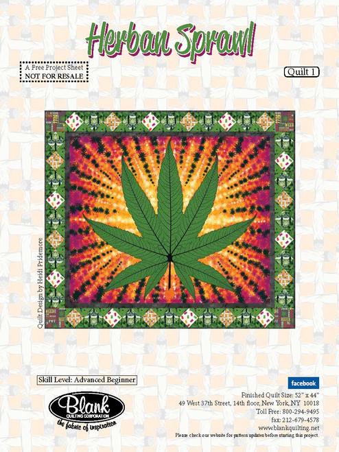 Herban Sprawl Quilt #1