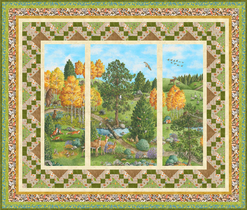 Nature Trail Quilt #1