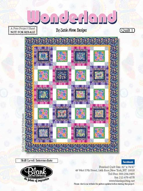 Wonderland Quilt #1