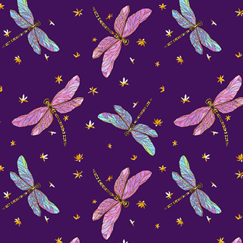 1632-55 Purple || Swan Lake -Digital