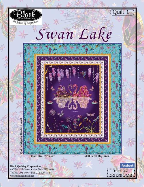 Swan Lake Quilt #1