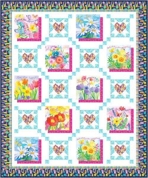 Bloom Bouquet II - Quilt #1