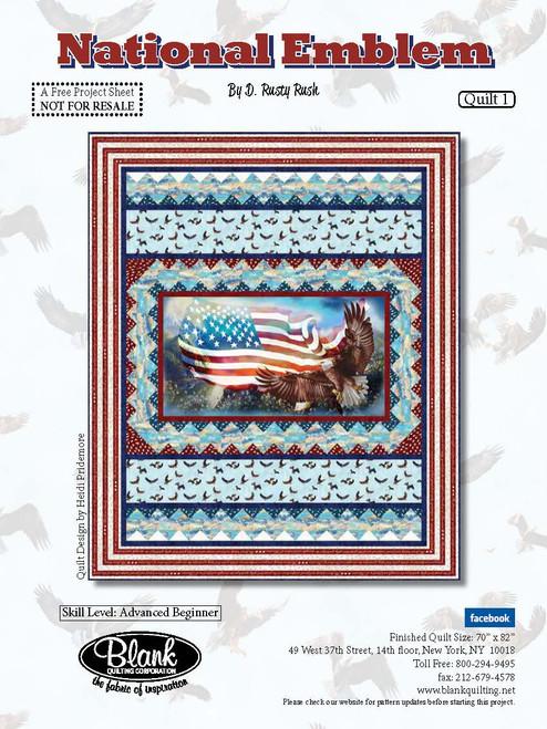 National Emblem Quilt #1