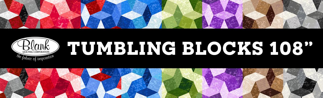 Tumbling Blocks 108