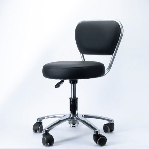 1016 Stool Chair Black