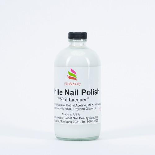 White Nail Polish 16Oz