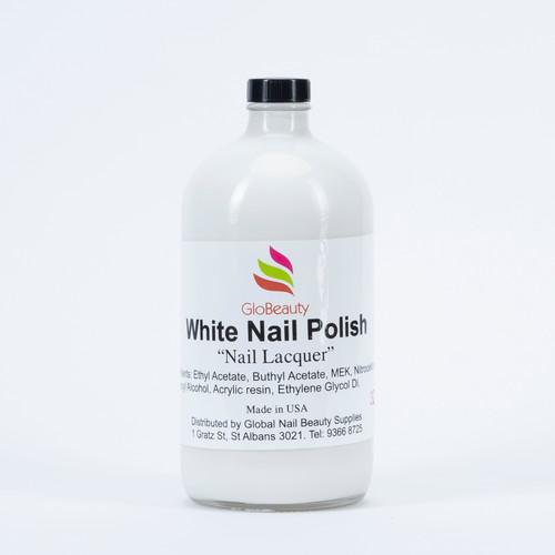 White Nail Polish 32Oz