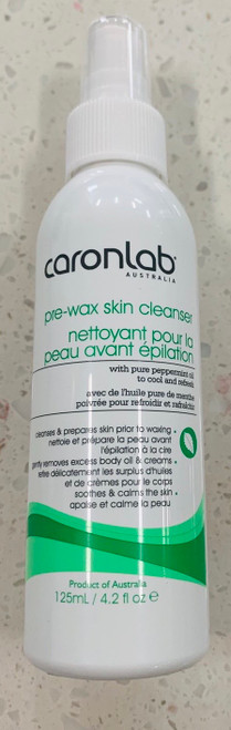 Caronlab before wax cleanser 125ml