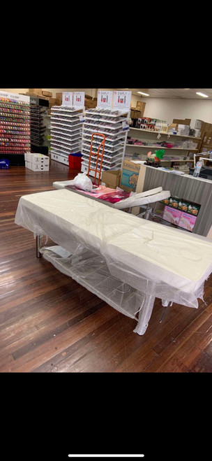 Massage Bed - White
