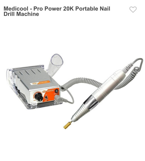 Medicool Pro 20k Electric Nail Drill