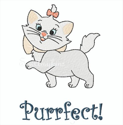Marie cat French kitten