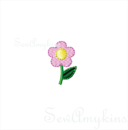 Tiny Daisy Flower mini design